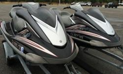 THE WAVERUNNERS LOOK AS GOOD OR BETTER THAN THEY DO IN THE PICTURES!!!THESE ARE THE FAST HIGH END UNITS! NOT THE LOWER END MODELS!! There is a big difference between these and the other Yamahas. These have all the bells and whistles for the year 2006THIS