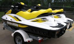 ;;'';./2007 Sea Doo GTI 130.2007 Sea Doo GTI-130 3-Seater 4-Stroke 130HP PWC's in very good condition with 104/109 hours. One of the skis is a GTI-130 & the other is a GTI-130 SE (has a retractable boarding ladder). Ski's were both used in Fresh water,