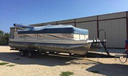 DESCRIPTION:This boat has been in my family since new. Every winter it has been dry docked and serviced by a dealer. Trailer is a 2016 Hoosier trailer. With busy work schedules its time for a new owner to enjoy! Starts with first key turn every time. 2007