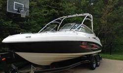 2007 AR230 High Output Yamaha Jet Boat. low hours. Fresh water use only. I am the original owner. It has been professionally winterized and stored indoors. Extras include two batteries and switch. Towing cover and Moring cover. Both in good condition.