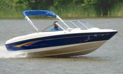 You are viewing a 2007 Bayliner 175 edition bowrider boat. This one owner boat is in excellent condition and shows to have been very well maintained. Boat has been kept under covered storage. UNDER 80 HRS ! ! ! 45 MPH ! ! ! EXCEPTIONAL CONDITION ! ! !