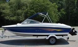 "2007 Bayliner ""175"" w/Mercruiser 3.0 Litre Engine. Floor Storage and Built-in Cooler. Excellent Condition, kept very clean and out of the weather. Plenty of power, but also good fuel economy. New tires & Hydraulic assisted brakes on the trailer. Bimini"