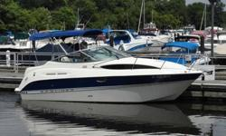 TAKE A LOOK AT MY ABSOLUTELY GORGEOUS 2007 BAYLINER 245SB CIERA CRUISER, THAT COMES WITH 2007 KARAVAN TRAILER . TRAILER TIRES ARE LIKE NEW, THE TRAILER HAS NO RUST. TRAILER LIGHTS, BRAKES AND EVERYTHING ELSE OPERATE JUST AS THEY SHOULD. IT SAFE TO TOW ON