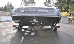 2007 Special Edition Black Crownline 180 BR with matching Black Trailer. Samson Wake Board Tower with Speakers, AM/FM/CD/Aux Stereo with Amp for 4 Boat speakers and 2 wake board tower speakers. Mercruiser 4.3 V6. Factory bow and cockpit cover, Crownline