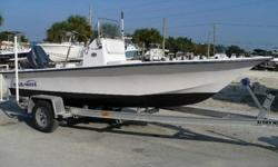 2007 BLUE WAVE 180 V BAY IS YOUR ANSWER TO ALL YOUR BAY BOAT NEEDS. ROUGH WATER CAPABILITY AND A SHALLOW DRAFT MAKE THIS BOAT A BACKCOUNTRY FISHERMAN'S DREAM!!!!ALL STANDARD FEATURES FROM BLUE WAVE PLUS: YAMAHA DIGITAL MULTI-FUNCTION GUAGE, LIVEWELL, ROD