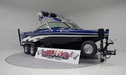 1 owner 24' boat just traded in!! Super clean boat! Built in Ballast tanks that fill and empty in seconds! All the options needed to surf or Wakebard!! Comes with warranty.We have the largest selection of very clean used Boats in the Northwest! Check our