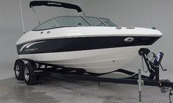 Top of the line Chaparral 190 SS! 190 hp 4.3L, Swim platform. Way low hours on this beauty!! Everything works perfect! If your looking for a super clean little family boat, this will work great! Comes with warranty. Ask about FREE delivery. Add a tower