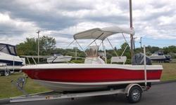 YOU ARE VIEWING A CLOSE TO NEW 2007 CLEARWATER 1900CC CENTER CONSOLE BOAT, MOTOR AND TRAILER. THIS SUPER CLEAN PACKAGE HAS ON 58 HOURS OF WELL CARED FOR USE. THE BOAT HAS NEVER SUSTAINED ANY TYPE OF PRIOR DAMAGE AND HAS NO PRESENT DAMAGE. THE BOAT IS