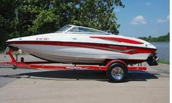 You are viewing a SUPER MINT 2007 Crownline 19SS edition Bowrider. This boat is in Excellent condition and shows to have been EXTREMELY well maintained. This boat has been garage kept its entire life. ONLY 110 HRS ! ! !55 MPH ! ! !EXCEPTIONAL CONDITION !