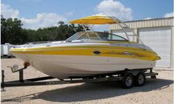 2007 Crownline 252 EX,2007 Crownline 252 EX. One owner boat with only 52.8 hours. Meticulously maintained, kept in covered storage facility always. Loaded with superior amenities and comfort. Includes but not limited too: color cordinated Magnum trailer,