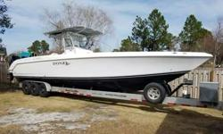 I have my fully decked out 2007 Donzi 38 ZFO for sale. If you want one of the largest fastest center consoles on the water, that has triple 2014 300HP Verado outboards under warranty till 2019 (over $75K upgrade), then this is your boat.This Donzi was