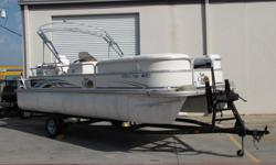 This is your chance to own a quality Pontoon Boat at a great price.The SUNCATCHER was America?s first family pontoon boat. Luxurious, extremely fishable and family friendly. In fact, everything onboard caters to your family's on-the-water experience: the