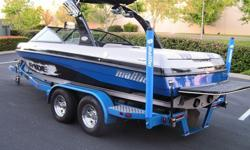 2007 MALIBU V RIDE wakeboarding boat. Motor is 320HP, has only 97 hrs on it. Its in excellent used condition. Has 3 ballast tanks, perfect pass and is very clean...just like new. Has a bimini top and a whole boat towable cover. Great boat for a good