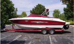 2007 Monterey 248 LS 2007 MONTEREY 248LS MONTURA with Mercury 350Mag 300Hp, Bravo III Outdrive, 75 Hours, Step-Hull. Factory Extended Swim Platform w/integrated step-down platform, Walk-thru Transom, Extra Large L-Shape Seating, Drivers & Passengers