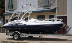 2007 Nautica International 16 Ft. Limited rigid inflatable yacht tender with a 165 hp Yamaha four stroke jet engine (77.1 hours). This is the most highly optioned yacht tender we have ever come across and she has been well taken care of. White powder