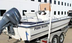 2007 PALM BEACH 211 BAY2007 YAMAHA 150 HP TXR OIL INJECTED ENGINE2007 ALUMINUM TRAILER MARINE INSPECTED WITH EXCELLENT RESULTSCOMPRESSION READINGS ARE 120/115/120/115/115/120TILT TRIM WORK GREATSTEERING IS HYDRAULIC AND VERY ACCURATEBOAT HAS FISH