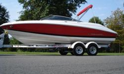 2007 Regal 2000 Bowrider with only 83 Hours. This 20 footer has high-performance attitude. With the proven FasTrac Hull you know you'll run ahead of the pack, get greater fuel economy and better handling. Everywhere you look, the design and manufacturing