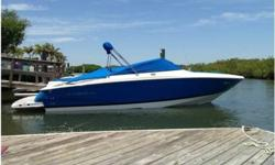 2007 Regal 2700 for sale with 150 low hours is a combination of speed, fun, sport, and luxury all wrapped into one. This Bow Rider is powered by a single Volvo Penta 8.1 (150 Hours) with duo props and Fastrac hull. This Low hour bow rider is in great