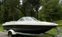 Offering a Very Nice 2007 Sea Ray 175 Sport.This boat has 50.7 Original Hours .Equipment as follows:Bimini Top w/Boot and Hard Leg.C D Stereo.Captain's Helm Chair-Swivel.Port side Back to Back-Lounge Seating.Port and Starboard Aft Seating.Bowrider Seating