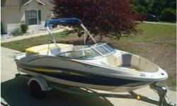 Make:SEA RAY.Model:185 SPORT.Length:19.Engine Model:MERCRUISER.Propulsion Type:SINGLE I/O.Hull Material:FIBERGLASS/COMPOSITE.Fuel Type:ELECTRIC.2007 SEA RAY 185 SPORT, A BOW RIDER THAT REALLY DOESN'T NEED ANY INTRODUCTION... 2007 SEA RAY 185 SPORT WITH