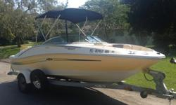 Save Your Money! Everything's Already Included! Start it and Go!BOAT SPECS:2007 Sea-Ray 185 Sport Head TurnerPerfect for Skiing / Wake boarding / or Night CruisingOne Owner - Meticulously Maintained 4.3 Mercruiser Alpha Drive 190 HP I/O.Rec 90 Ethanol
