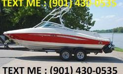 It is a perfect family boat for cruising, tanning, waterskiing, tubing or wake boarding. The 220 HP 5.0L Mercruiser engine has been professionally maintained by a certified mechanic and will pop a slalom skier out of the water. The boat includes a 5 Starr