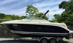 ,,,,,,,,,,,Re-powered in 2012 with a Mercury Marine 383 MAG Stroker 350 HP Bravo engine, and still under warranty through 2015, less than 200 hours since repower. Everything works, original owner, meticulously maintained, includes tandem axle Load Rite