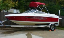 2007 Seaswirl 175 bow rider runabout in excellent condition. All fiberglass has room for up to 8 and an extended swim platform with a padded sunning area also. With a 190 HP I/O Mercruiser this boat zips across the water and easily gets up to plane