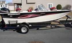 The Best Value on the Water .Perfect 2007 Smoker Craft Ultima 172 propelled by an ultra powerful Mercury Opti Max 115 Horsepower outboard. The superior construction of Smoker Craft boats mated with the legendary reliability and performance of Mercury