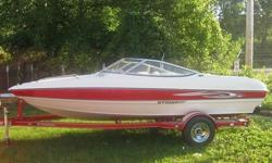 2007 Stingray 185 LX 18.5 foot Bow Rider boat with only 49 original hours. This boat comes with the upgraded 3.0 liter 135 hp Mercruiser engine with a Mercruiser Alpha One inboard/outboard outdrive. This boat is in good shape inside and out. I am