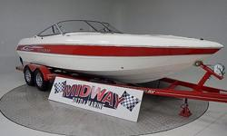 Incredibly clean boat!! No reason to buy new when this boat is this clean and you save thousands!! Stingray is a quality boat! Plenty of power with a 6.2L V8 and Bravo I outdrive. Interior and extrerior are mint! Comes with warranty. Ask about FREE