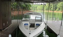 18 Foot 2007 Stingray. Seats seven. Virtually like new condition.135 Hp Chevy engine with Volvo outdrive. Gets superb fuel economy.Bimini top. Keel guard. Anti-cavitation plate on outdrive unit. Planes easily and very stable.Sony stereo includes marine