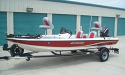 The 2007 Stratos 176 XT is a 100% composite construction boat, so no wood rot. All on this boat works, the hull shines like new, the seats are without a flaw, and the the Evinrude E-TEC 60 hp motor has only 16 hours verified by Evinrude.***TRAILER IS