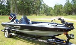 """2007 Stratos, 285XL, with a Yamaha 150hp VMax motor! 18'6"""" full length of boat.I purchased this boat new from a local dealer in 2007.This boat has only been in the water 6 times! The pictures tell the whole story, garaged kept and covered at all times."""