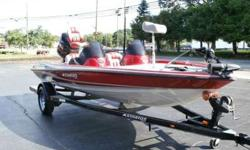 TROLLING MOTOR,RECESSED TROLLING MOTOR CONTROL,DUAL CONSOLE,2 ROD BOXES AND STORAGE UPFRONT,2 LIVEWELLS AND 2 STORAGE IN REAR,3 NEW INTERSTATE BATTERIES,MINN KOTA MK210 ON BOARD CHARGER,2 LOWRANCE X-52 GRAPHS,HOT FOOT,FUEL,WATER PRESSURECALL OR TEXT ONLY
