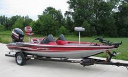 2007 Stratos 294XL 20 foot bass boat with a Dual Console, and 69 original hours and warranty till March 1, 2016. Why buy new? WOW! LOOK AT THIS BOAT, THIS IS TOP OF THE LINE AND IN EXCELLENT CONDITION! This is a freshwater boat that has less than 70 hours