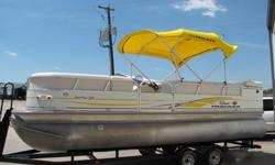 We will contact you only if you send us your phone number.2007 SUN TRACKER PARTY BARGE 22 REGENCY EDITION PONTOON BOAT WITH 135HP, 3.0L MERCRUISER MOTOR!!! HARD TO FIND!This is your chance to own a quality Pontoon Boat at a great price.The SUN TRACKER was