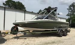 2007 Supra Launch 20SSV.370 Hours .2013 Boatmate Tandem Axle Trailer.325 HP Indmar Assault Engine.I reupholstered the whole boat in 2014 with replacement factory Supra skins. Wetsounds audio:Syn 6 Amp - Syn 4 Amp - XS-650 in-boat speakers - Rev 10's tower