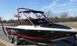 2007 Supra Launch 21v 21ft boat v drive 325hp indmar vortec 350 495 hours. Boat is loaded with options Very sharp boat with tasteful colors inside and out. Interior is in great shape. Has very few minor flaws Same goes for the outside. The hull is in