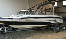 ,,,,,,Thank you for looking at our 2007 Tahoe boat. This boat was owned by and elderly gentleman that didn't use the boat due to an illness. It currently has less than 30 hours on it and is in very good condition. It does have a few nicks on it and the