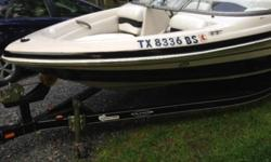 For sale is a 2007 Tahoe Q4 (with boat trailer). This boat has a 4.3L V6 Mercury (less than 200 hours on engine) and puts out about 190 hp. This boat has its Original Engine! There has been no major maintenance due to proper winterization and preventive