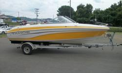 2007 Tahoe Q6 Fish/Ski with a Mercruiser 4.3L 190 hp I/O and Aluminum Single Axle TrailerHas Spacious Bow with seating that can be converted to a fishing platformWalkThru WindshieldSwim Platform with Boarding Ladder and stereo speakersStainless Steel Ski