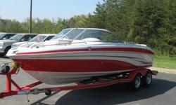 THIS IS A VERY NICE Q-7 I. IT HAS A 5.7 L 350 CU IN MERCRUISER W/ ALPHA DRIVE. SPORT SEATING, POP UP CLEATS,FIBERGLASS LINER, AM/FM/CD PLAYER, FULL INSTRUMENTATION, TILT WHEEL, 4 STEP LADDER ON BOW, AND TRANSOM, BUILT IN COOLER. THE FIBERGLASS IS IN