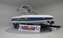 "Discounted over $4500.00 if you mention our web site! This is way nice!! The perfect ""Cross Over"" Boat!! This is a direct drive with a ballast system! Perfect for those who love to ski and wakeboard or surf! Very little use on this baby! comes with"