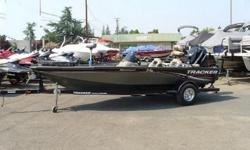 Clean, well kept, loaded 2007 Tracker Tournament V 18 All Welded aluminum bass or multi-species fishing boat with only 70 original owner hours on the upgraded Mercury Optimax 115!Ready to fish and loaded with everything.* 3 Casting Seats* Lowrance