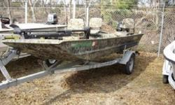 The layout is pre-wired with heavy-duty 6 gauge trolling motor wiring and the port side includes a rod/gun box that?s built into the design, not spot-welded or bolted in. Inside the box, an organizer with individual rod tubes is factory-installed for a