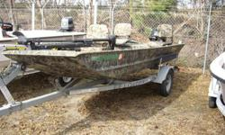 Great boat for duck hunting, river and reservoir fishing, inshore/bay fishing, and scalloping. Ive used it for all of these purposes and have never been in a better all around boat. Im only selling because I have been pursuing offshore fishing more and