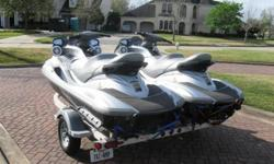The FX Cruiser HO is powered by an all new 1.8 liter, high output Yamaha Marine Engine. This 1812cc engine, which is purpose-built for the marine environment, is the largest displacement engine ever installed in a personal watercraft. It is also the only