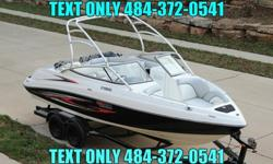 ................Now Available Is This Super Nice 2007 Yamaha AR230 HO With Trailer Included With ONLY 167 Hours. This Yamaha Is Finished In the Most Popular Black Over White With The Red Graphics Package. This 2007 AR230 Is A Nice Clean Perfect Boat For