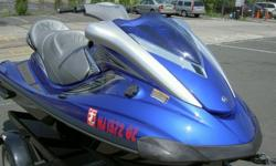 2007 Yamaha FX Cruiser HO WaveRunner in Metallic Marine Blue color. This machine is almost new. Has only 13 hours!Condition is flawless!! The pictures speak for themselves, this ski is MINT.Always stored in-doors and flushed properly. If you want a